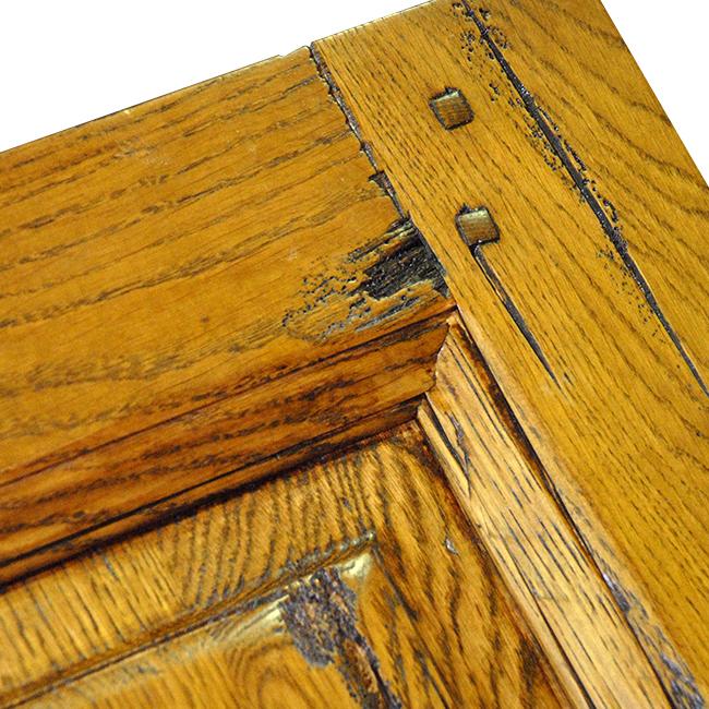 Portes demange d couvrez la gamme de portes int rieures - Bois vieilli technique ...